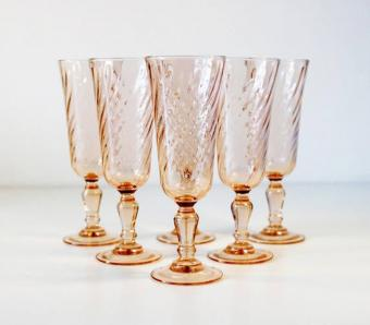 Pink Depression Glass Styles and Patterns