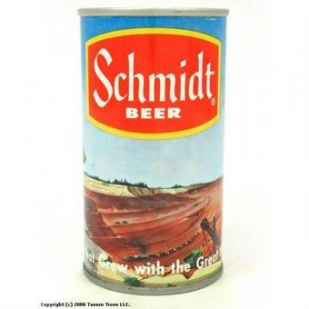 Schmidt beer can