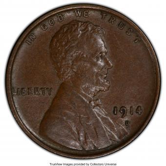 1914 - D Lincon Penny
