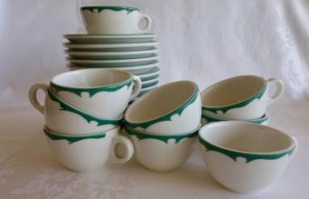 1960s Buffalo China coffee cup