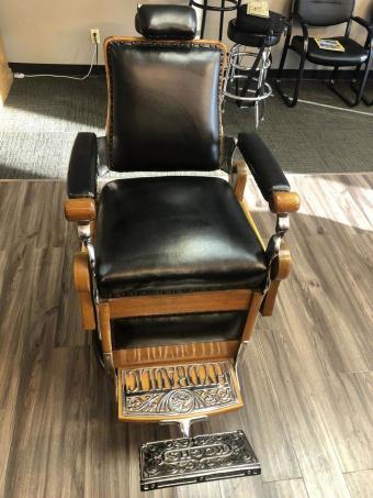 Theo A. Kochs Company Barber Chair