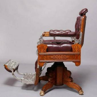 Antique Koken Barber Chairs