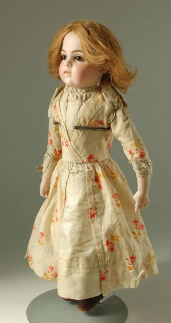 1880s French doll with red hair
