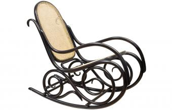 Bentwood wooden rocking chair
