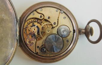 Zenith pocket watch inside