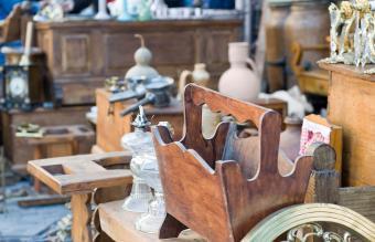 Antiquities in estate sale