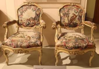 Rococo armchairs