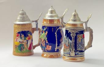 Antique German Beer Steins: Values and History