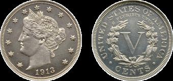 1913 Eliasberg Liberty Head Nickel