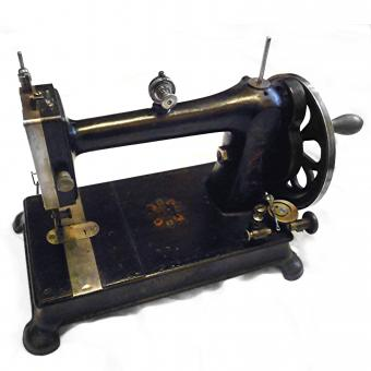 A rare Davis domestic sewing machine