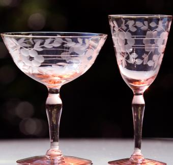 Collectable Crystal Depression Glasses