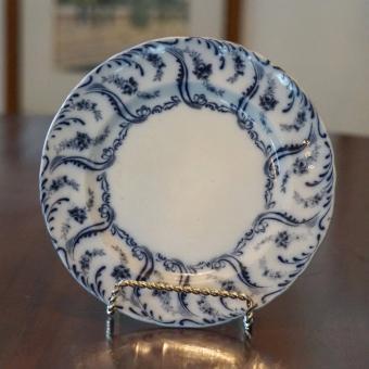 William A. Adderley Flow Blue Constance Pattern