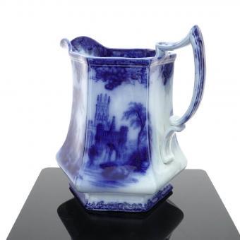 Gothic Flow Blue Water Pitcher