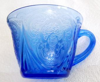 Blue Royal Lace Cup