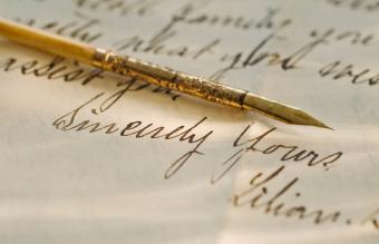 Antique fountain pen