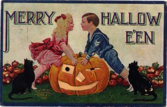 Vintage postcard from 1908
