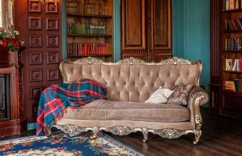 Victorian style sofa