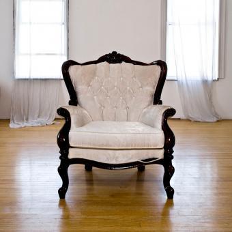 elegant Victorian chair