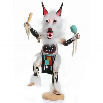 Wolf Kachina doll