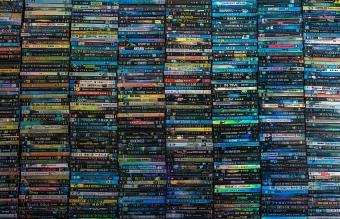 Full Frame of DVDs