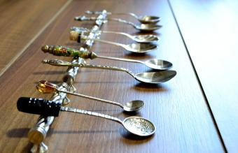 Collection of silver spoon
