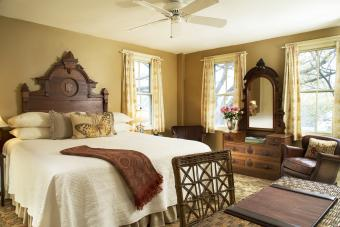 Master Bedroom with Traditional Decor
