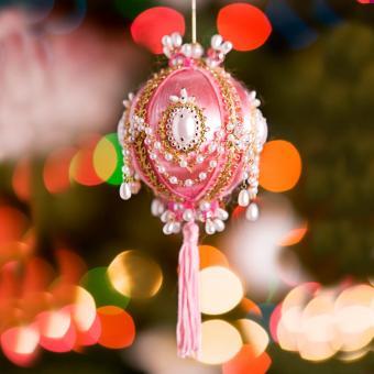cotton batting Christmas Ornament