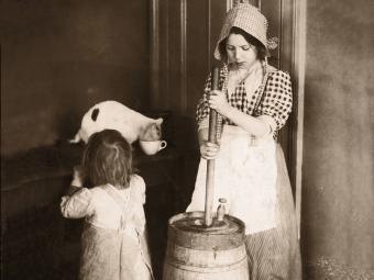 Determining Antique Butter Churn Value