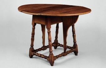 Drop-leaf Side Table