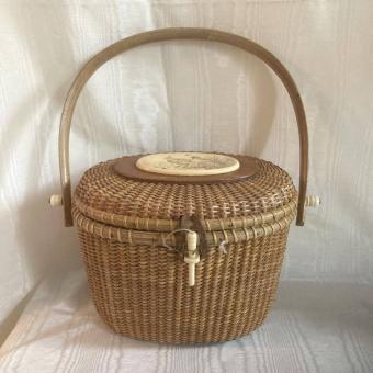 Nantucket Lightship Basket Purse