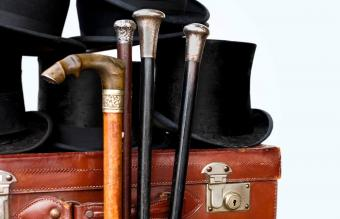 Antique walking sticks