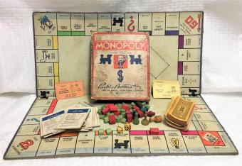 Vintage MONOPOLY GAME 1937 Edition