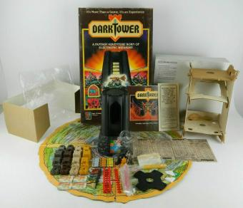 Dark Tower Board Game 1981