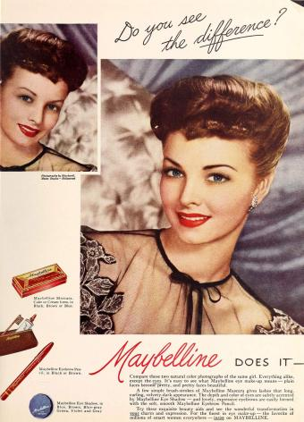 Maybelline 1946 Poster