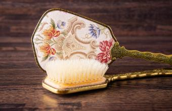 Antique Hair Brush History, Brands & Sophisticated Styles