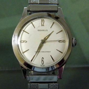 Vintage Benrus Manual Wind Men's Watch