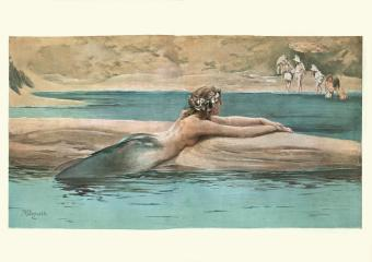 Vintage Mermaid Art and Its Mythical Appeal