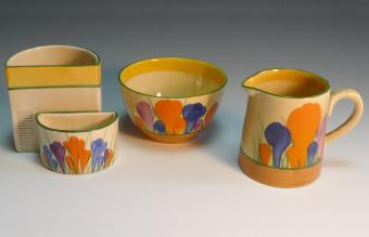 Exploring Clarice Cliff Pottery and Its Unique Flair