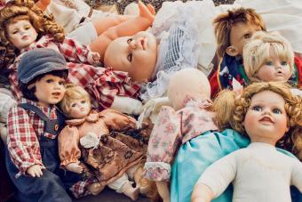 old vintage dolls