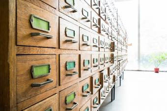 Identifying Antique Filing Cabinets