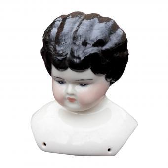 Porcelain doll head
