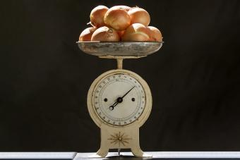 Antique Food Scale