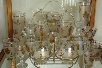 Collections - Libbey Glassware, Golden Foliage