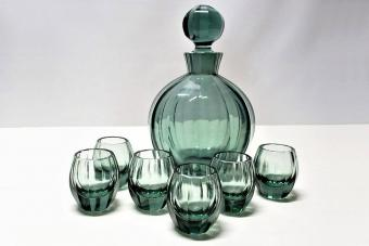 Antique Moser Glass