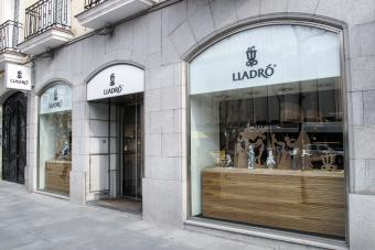Lladro shop in Madrid