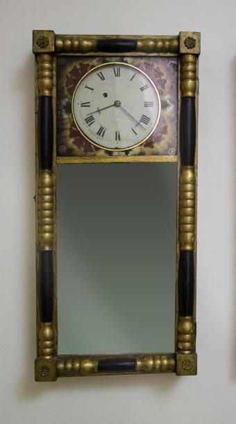 New Hampshire Mirror Wall Clock