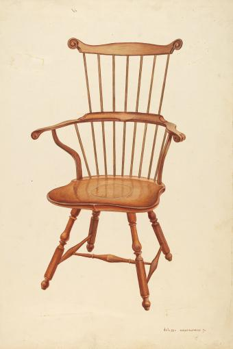 Windsor Comb-back Chair