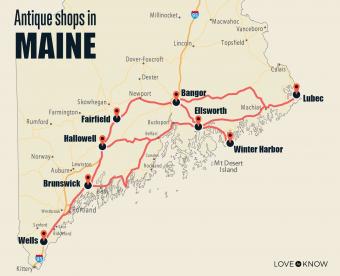 Antique Shops in Maine