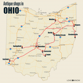 Antique Shops in Ohio