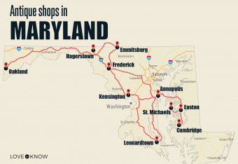 Antique Shops in Maryland